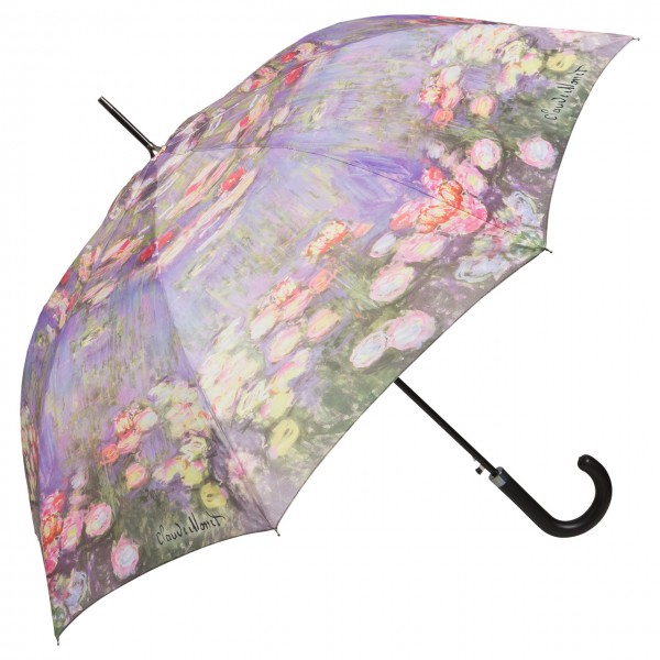 Umbrella Automatic Art Claude Monet: Waterlilies