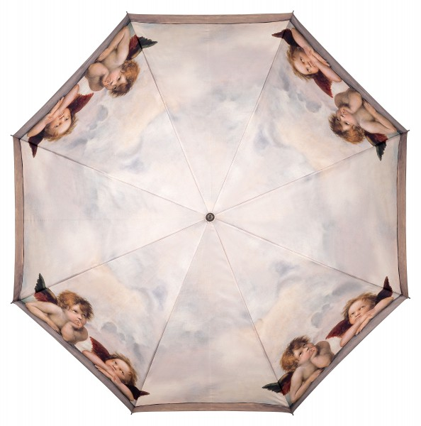 Umbrella Automatic Motif Art Raffael: Angels