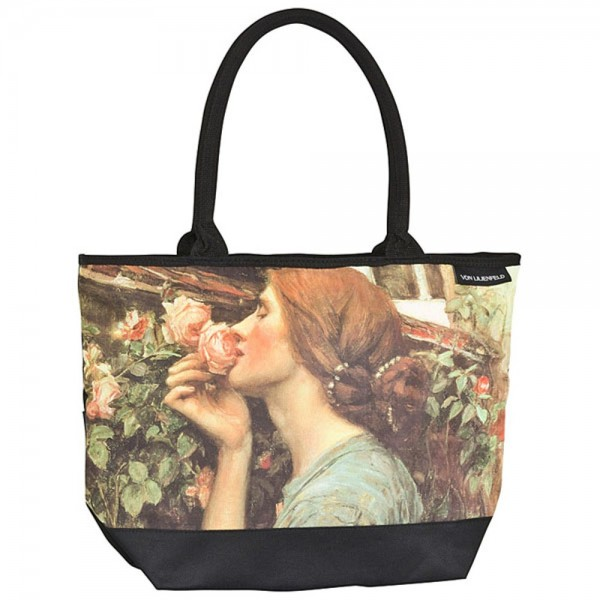 Tote Bag Shopping Art John W. Waterhouse: My Sweet Rose
