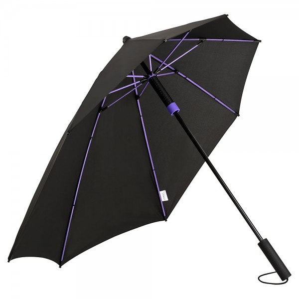 Umbrella Storm Proof Special Shape Alex purple