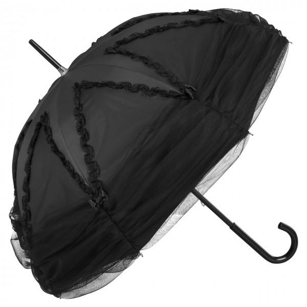 """Design Umbrella """"Valerie"""", black"""