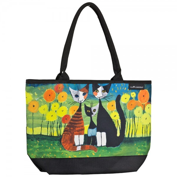 Tasche Shopper Katzen Kunst Rosina Wachtmeister: All Together