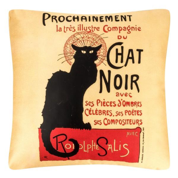 Cushion 40 x 40 Chat Noir