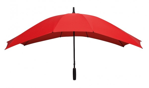 Regenschirm Partnerschirm Maxi rot