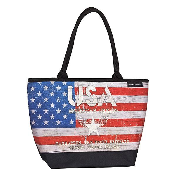 Tasche Shopper bedruckt mit Motiv USA