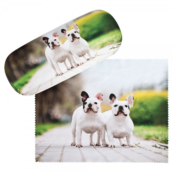 Glasses case French Bulldogs