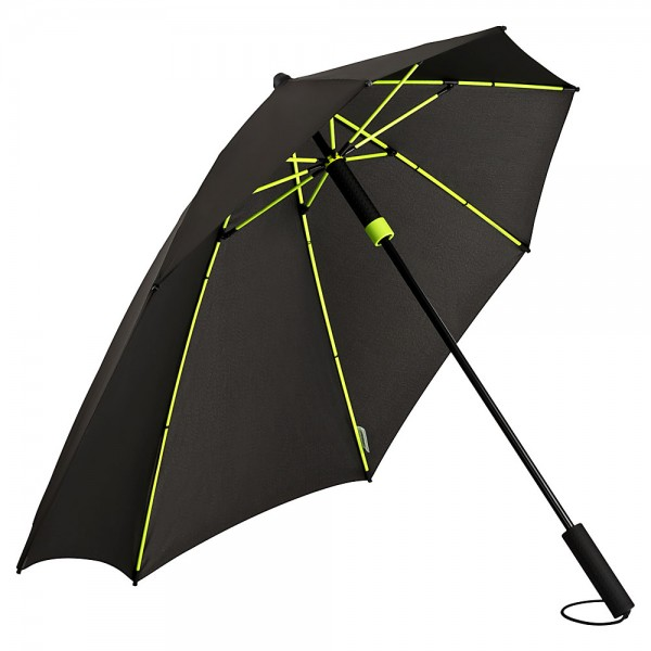 Umbrella Storm Proof Special Shape Alex lime