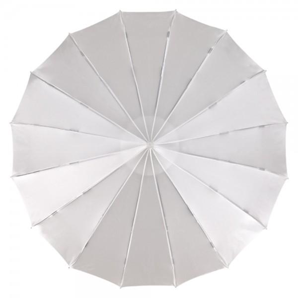 """Regenschirm Hochzeitsschirm Pagode """"Cécile"""", Satin, weiß"""
