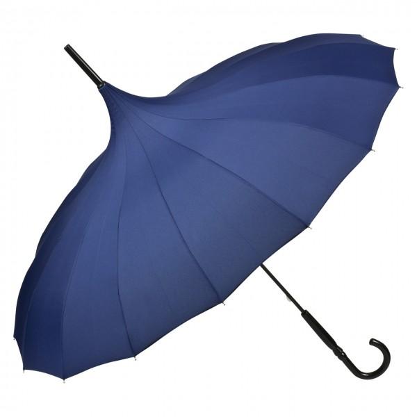 """Regenschirm Pagode """"Cécile"""", blau"""