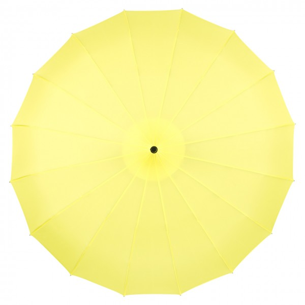 Regenschirm Pagode Cécile, gelb
