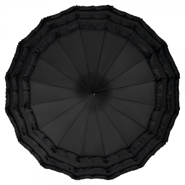 Pagoda Umbrella Sarah, black