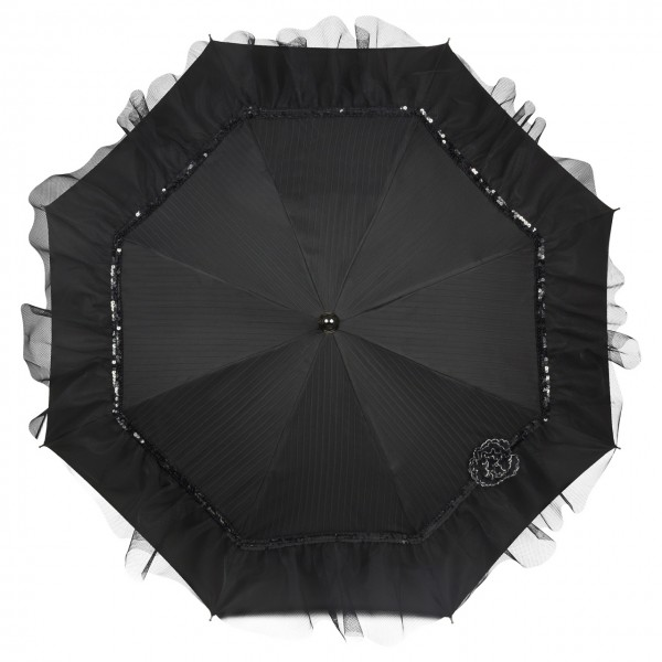 "Design umbrella ""Elodie"", black"