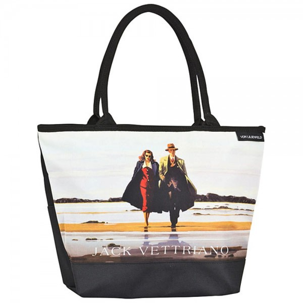 "Shoppertasche Jack Vettriano: ""Road to Nowhere"""