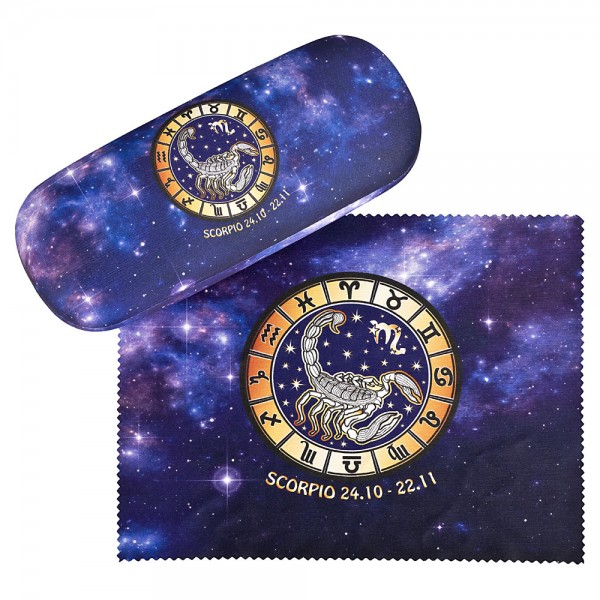 Glasses case Sign of Zodiac Scorpio