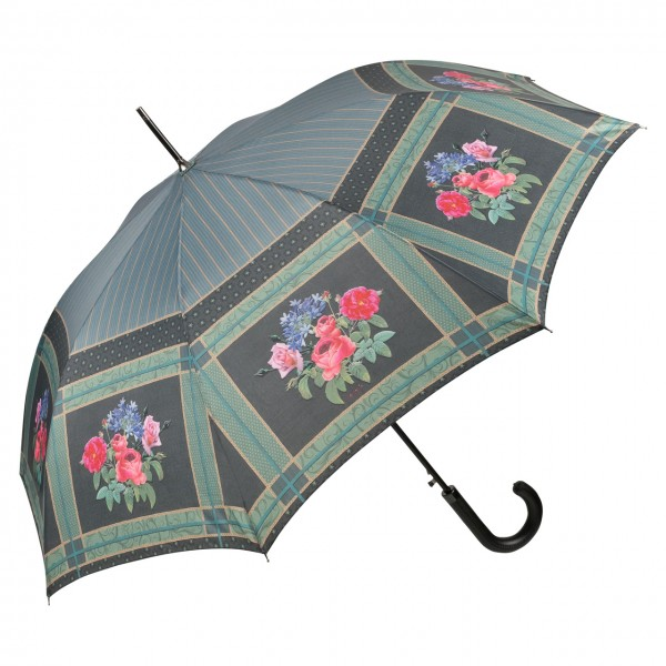 Umbrella Automatic Motif Art Eva Maria Nitsche Bonny Bouquet