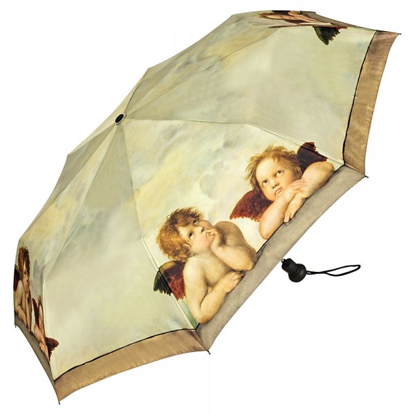 Taschenschirm Motiv Kunst Raffael: Engel
