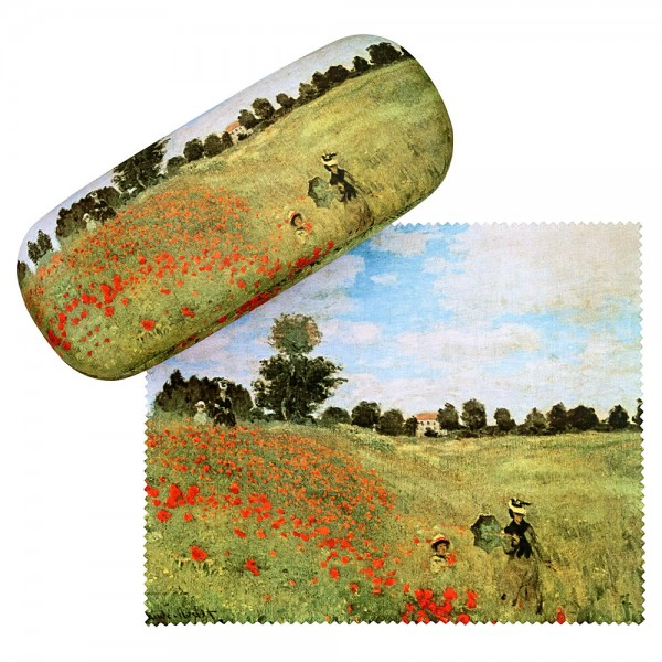 Glasses case Claude Monet: Field of Poppies
