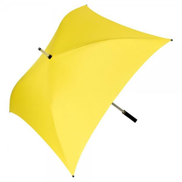 Regenschirm quadratisch Charlie gelb