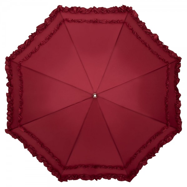 "Automatic umbrella ""Mary"", burgundy"