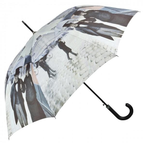 Regenschirm Kunst Motiv Gustave Caillebotte: Paris im Regen