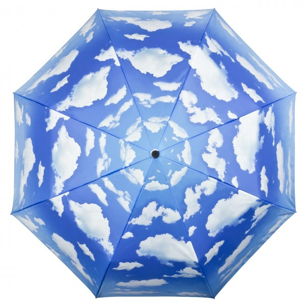 Folding Pocket Umbrella Automatic Telescopic Bavarian Sky