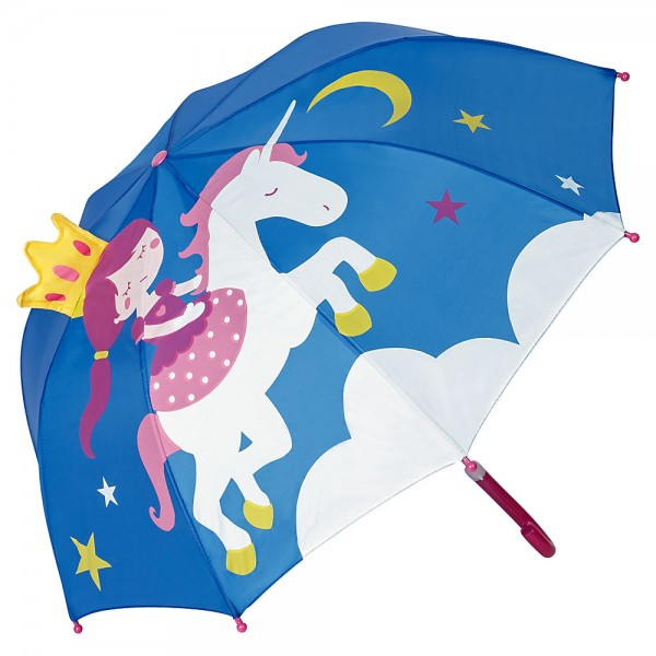 Children umbrella Princess with Unicorn (up to age 8)