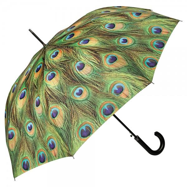 Regenschirm Automatik Pfau