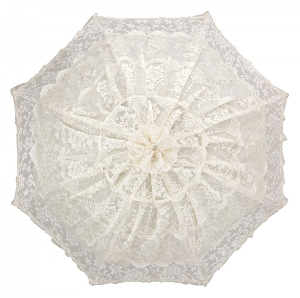 "Bridal umbrella ""Melissa"", chamapnge"