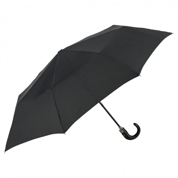 """Design-Schirm (Taschenschirm) """"Pierre"""", schwarz"""