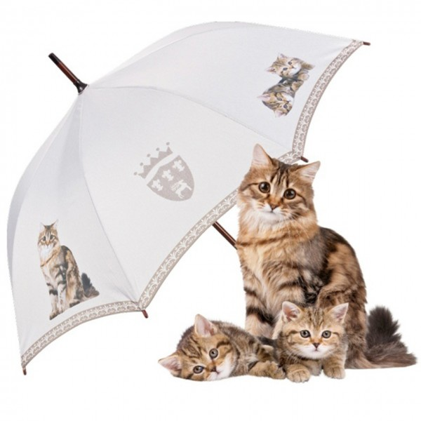 "Automatic umbrella ""Tigered Cats"""