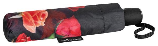 Folding Pocket Umbrella Automatic Telescopic Bouquet of Roses