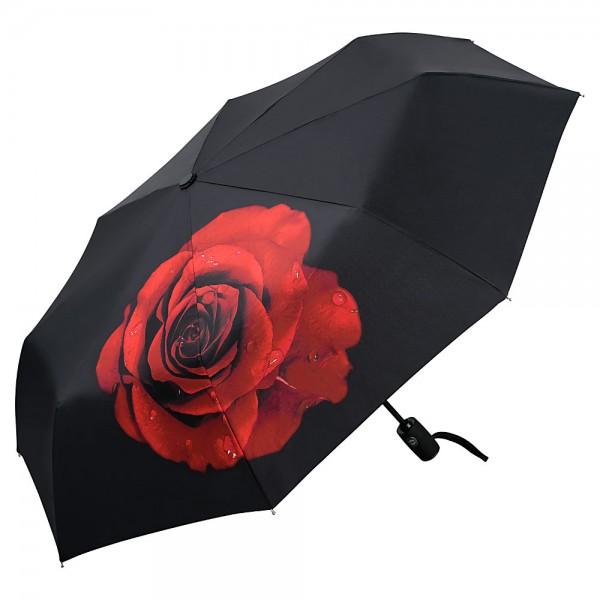 Folding Pocket Umbrella Automatic Telescopic Rose