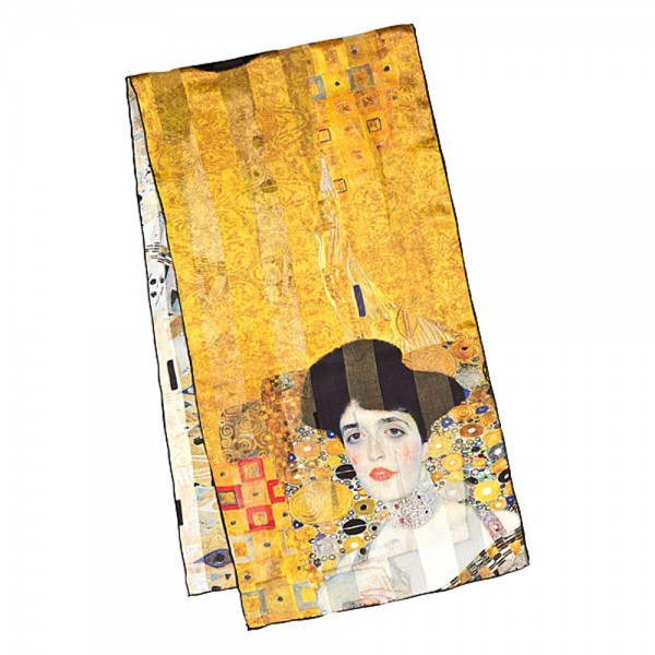 "Seidenschal Gustav Klimt: ""Adele"""
