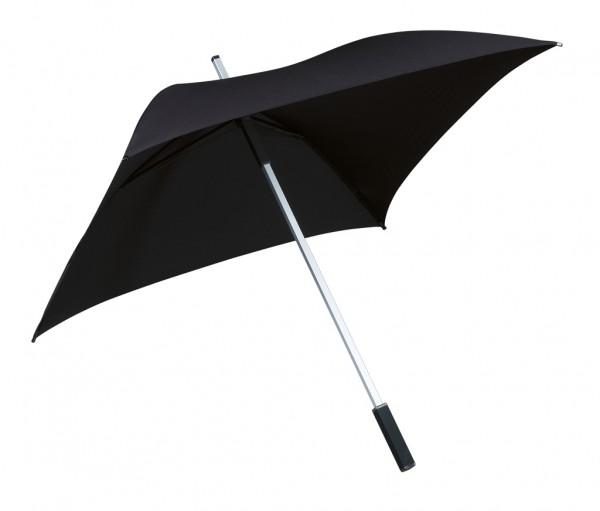 Regenschirm quadratisch Charlie schwarz
