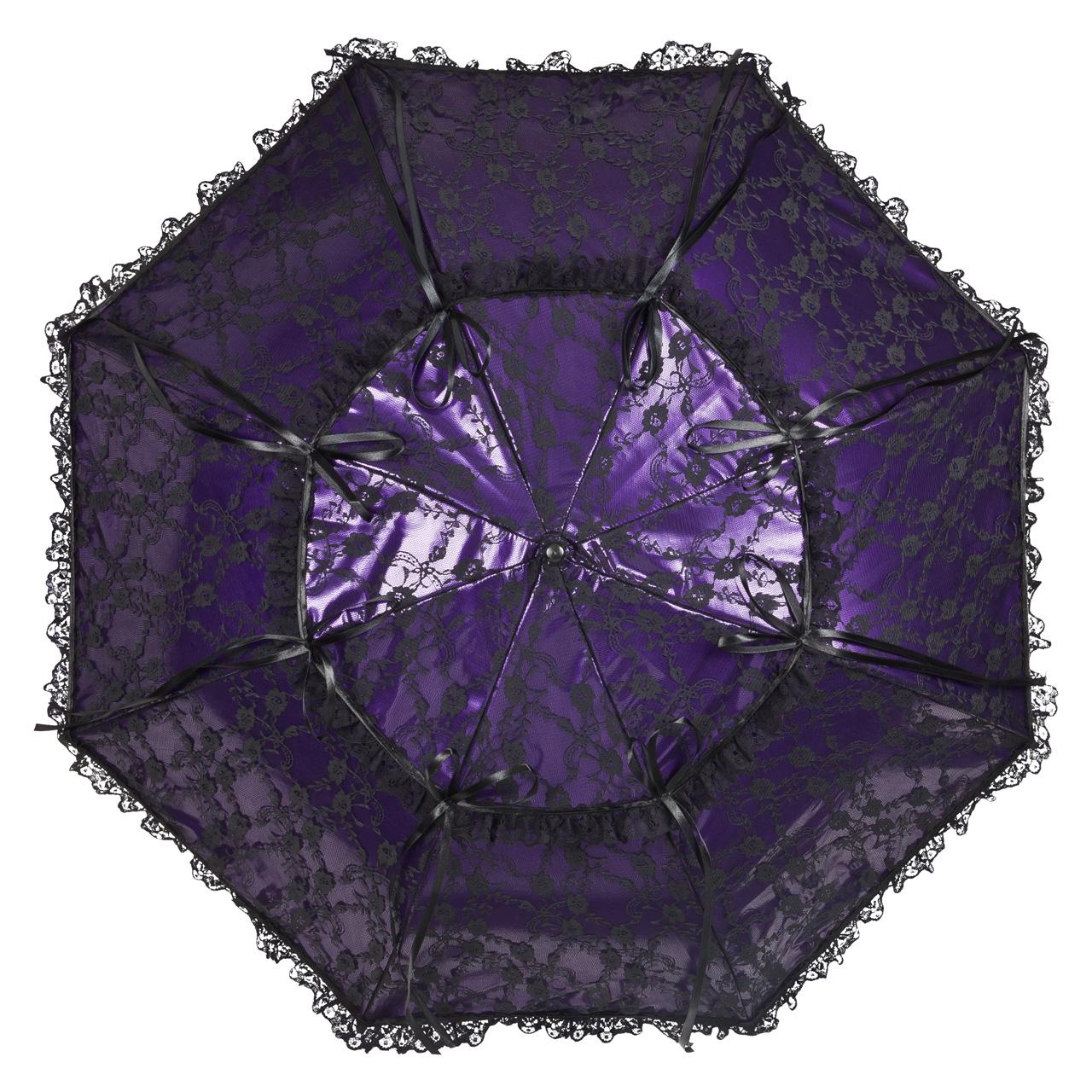 regenschirm sonnenschirm luna violett mit regenschutz. Black Bedroom Furniture Sets. Home Design Ideas