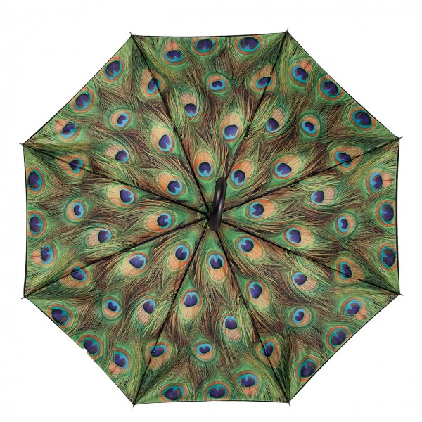 "Automatic umbrella ""Peacock"", Double Layer"