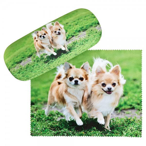 Glasses case Chihuahuas