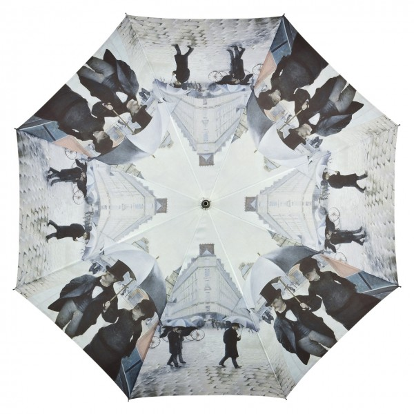 "Motivschirm Automatik Gustave Caillebotte: ""Paris im Regen"""