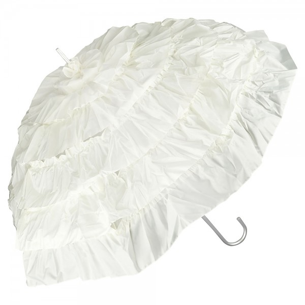 "Design umbrella ""Mia"", creme"