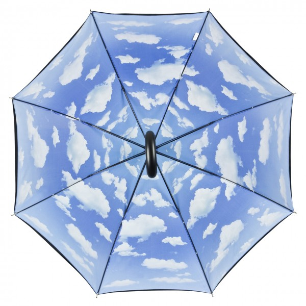 Umbrella Automatic Motif Bavarian Sky, Double Layer