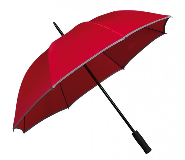 Umbrella Reflective Edge Finn red