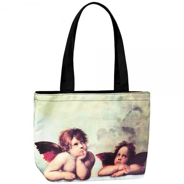 kleine Tasche Kinder Motiv Kunst Raffael: Engel