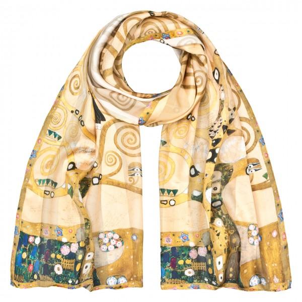 """Seidenschal Gustav Klimt: """"Lebensbaum"""""""