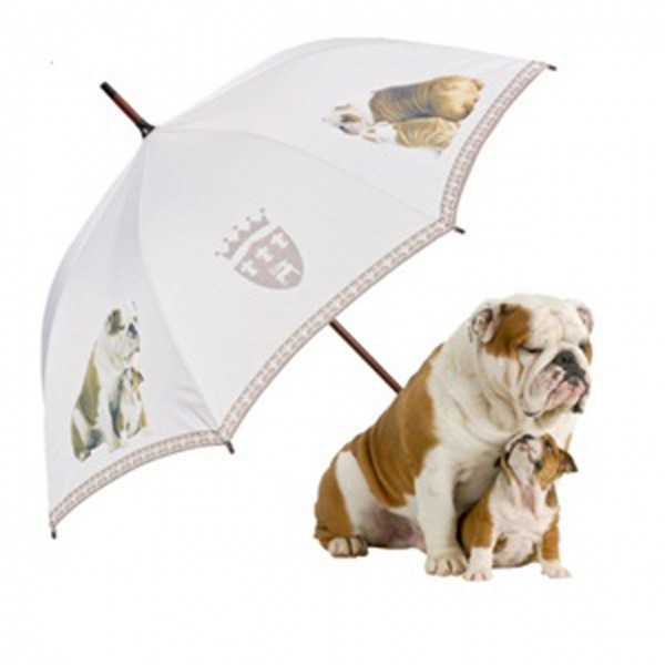 Umbrella Automatic Motif Dog English Bulldog