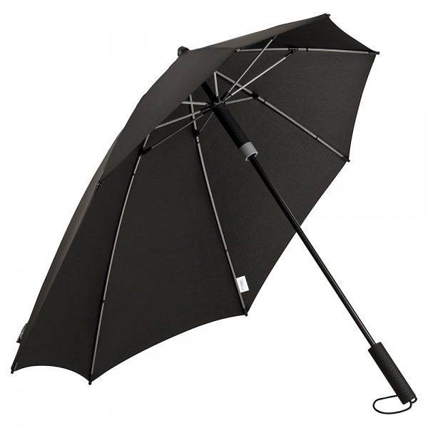 Regenschirm Sturmschirm Alex, grau