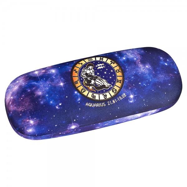 Brillenetui  Hardcase Sternzeichen Wassermann Aquarius