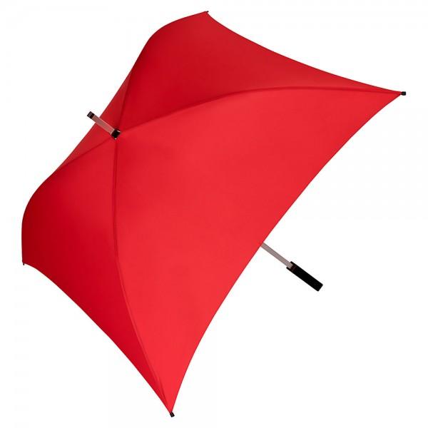 Regenschirm quadratisch Charlie rot