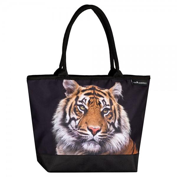 Tasche Shopper Umhängetasche Motiv Tiger