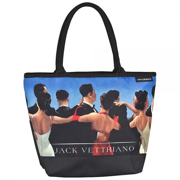 Tasche Shopper bedruckt Kunst Motiv Jack Vettriano: Walzer
