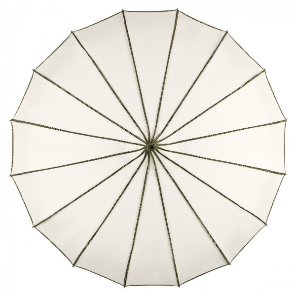 Pagoda Umbrella Wedding Bridal Justine, creme